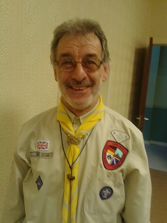 Ken Tipping, Group Scout Leader